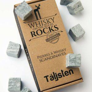 Pierres à whisky – Coffret 8 glaçons en pierres ollaires scandinaves