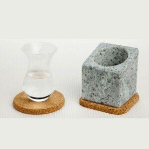 Stenkall – Rafraîchisseur d'eaux de vie – Bloc de pierre ollaire creusée