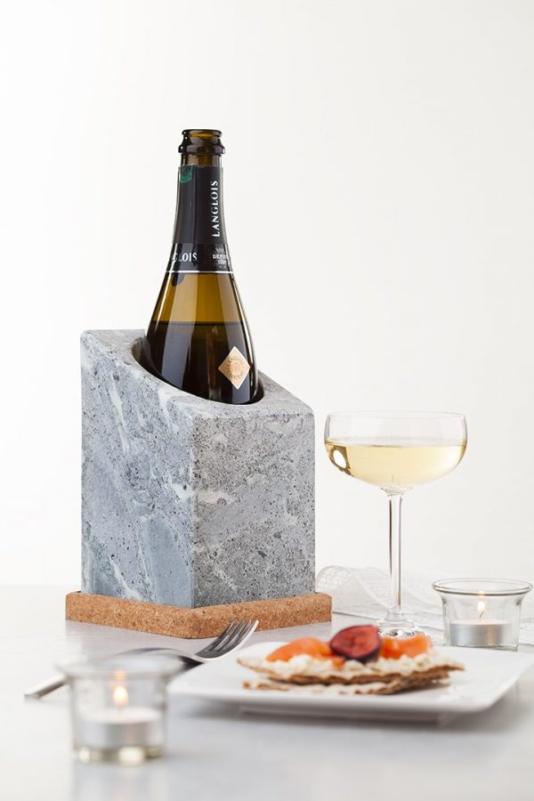 Rafraîchisseur de bouteilles - Vinkylare - Marque Täljsten - Refroidisseur par bloc de pierre