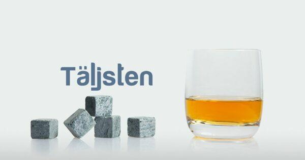 Ensemble de 2 coffrets de 8 pierres à whisky